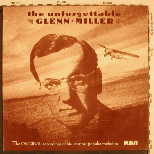 Miller,Glenn: The Unforgettable, Foc, RCA Victor(TVL 1), UK, 1977 - LP - B9120 - 3,00 Euro