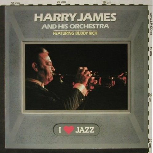 James,Harry & Orch.: I Love Jazz, feat.Buddy Guy(54), CBS, Muster-Stol(21105), NL, 83 - LP - C2254 - 4,00 Euro