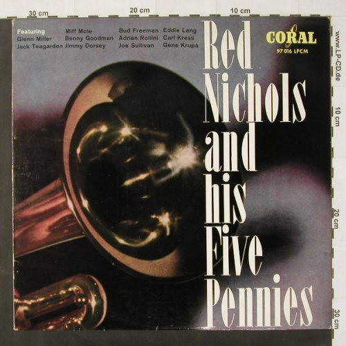 Nichols,Red & Five Pennies: Same, Coral(97 016 LPCM), D,  - LP - C2360 - 4,00 Euro