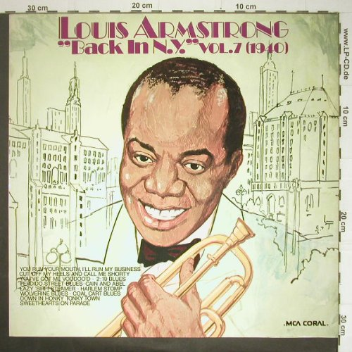 Armstrong,Louis: Back In NY 1940,Vol.7, MCA(6.22176 AG), D, 1975 - LP - C5799 - 5,00 Euro