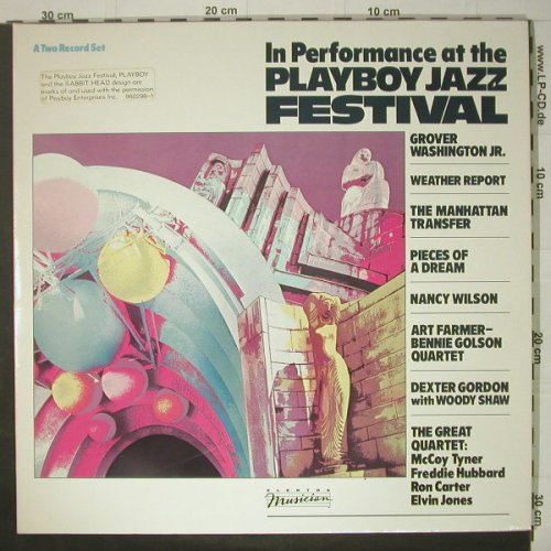 V.A.Playboy Jazz Festival: In Performace at the, Foc, Elektra Musician(960 298), D, 1984 - 2LP - C6353 - 9,00 Euro