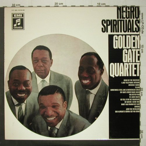 Golden Gate Quartet: Negro Spirituals, Columbia(1 C 062-10 514), D,  - LP - C6533 - 9,00 Euro