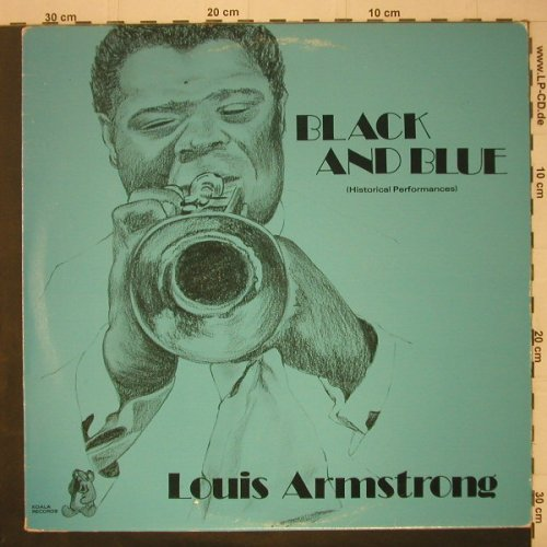 Armstrong,Louis: Black And Blue, Koala(AW 14123), US, 1979 - LP - C6743 - 5,00 Euro
