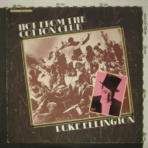 Ellington,Duke: Hot From The Cotton Club, EMI(26 0567 1), UK, 1985 - LP - C6752 - 6,00 Euro