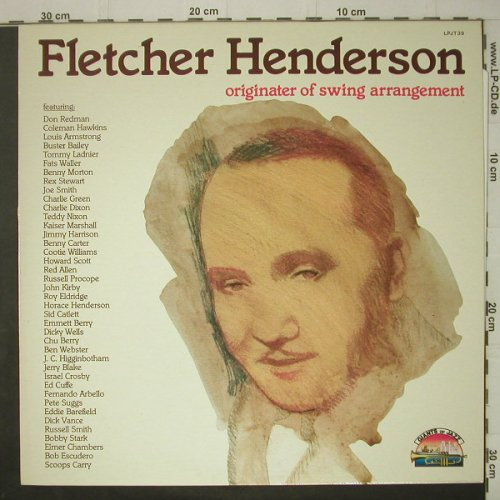 "Henderson,Fletcher ""Smack"": Originater Of Swing Arrangement, Giants o.J(LPJT 39), I, 1986 - LP - C6753 - 5,00 Euro"