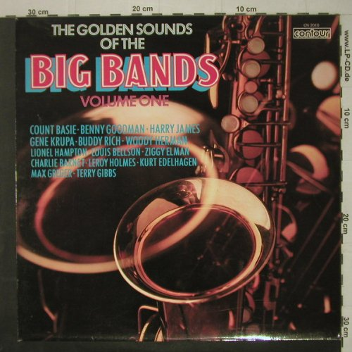 V.A.The Golden Sounds Of Big Bands: Vol.1,Charlie Barnet...Ziggy Elman, Contour(CN 2010), UK,14Tr.,  - LP - C6890 - 5,50 Euro