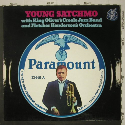 Armstrong,Louis: Young Satchmo, Jazz Story(40.031), D, 1977 - LP - C6906 - 5,00 Euro