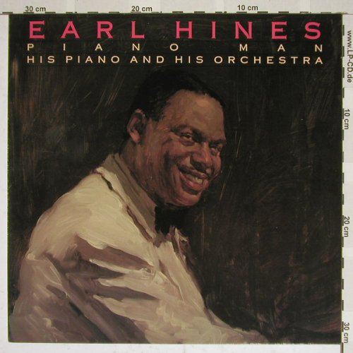 Hines,Earl: Piano Man, his Piano and his Orch., Bluebird(NL86750), D, 89 - LP - C6993 - 5,00 Euro