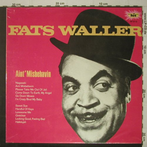 Waller,Fats: Ain't Misbehavin, FS-New, HIT(ST 5113), D,  - LP - C7078 - 7,50 Euro