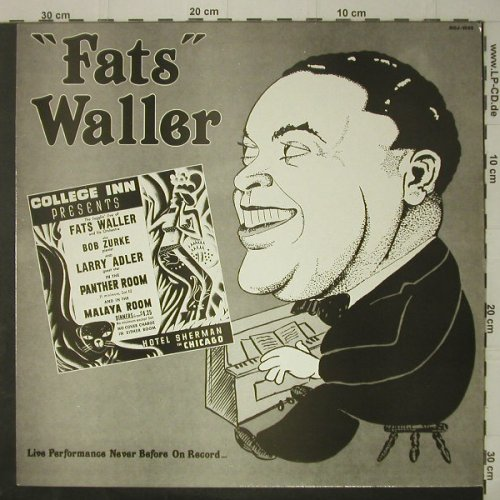 Waller,Fats: 'Live'Volume Two, Jasmine(GOJ 1035), UK, 1984 - LP - C7080 - 6,00 Euro