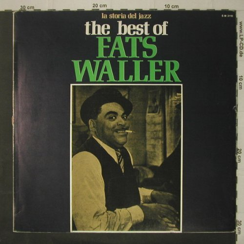 Waller,Fats: The Best Of, m-/vg+, Joker(SM 3110), I, 1971 - LP - C7085 - 3,00 Euro