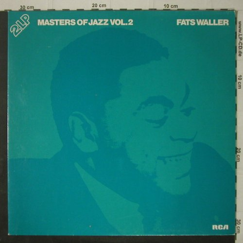 Waller,Fats: Masters Of Jazz Vol.2, Foc, Mono, RCAgreen(CL 42343), D, 1978 - 2LP - C7184 - 6,50 Euro