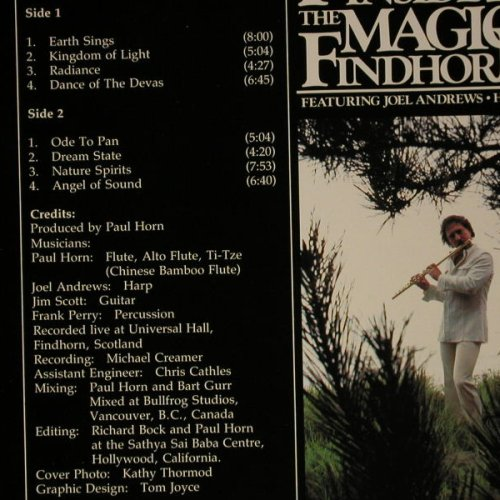 Horn,Paul: Inside The Magic Of Findh, Golden Fllute(GFR 2003), D, 1983 - LP - C7559 - 7,50 Euro
