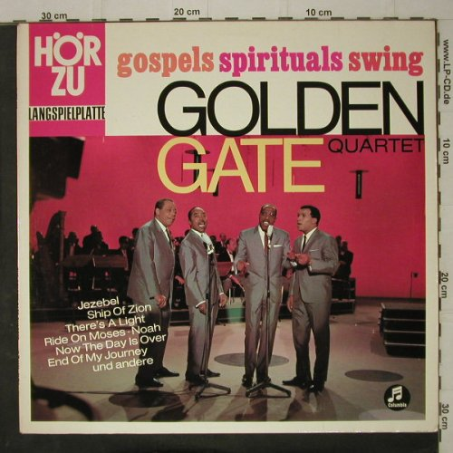 Golden Gate Quartet: Gospels,Spirituals,Swing, HörZu / Columbia(SHZE 237), D,  - LP - C7679 - 7,50 Euro