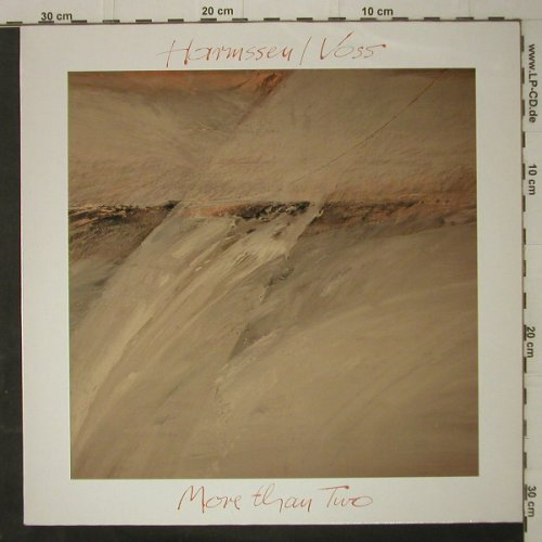 Harmssen,Uli / Jochen Voss: More Than Two, Editon C.(EC 427), D, 1986 - LP - C7740 - 5,00 Euro