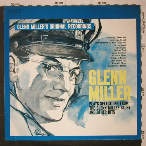 Miller,Glenn: Plays Selections From G.M.,Ri, RCA(NL 89 073), D, 1960 - LP - C7772 - 5,00 Euro