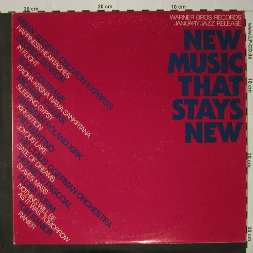 V.A.New Music That Stays New: Promo, Foc, WB(PRO 656), US, 1977 - 2LP - C8077 - 9,00 Euro