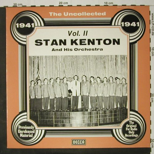 Kenton,Stan & Orch.: The Uncollected, 1941, Vol.2, Decca(6.23574 AG), D, 1978 - LP - C8184 - 5,00 Euro