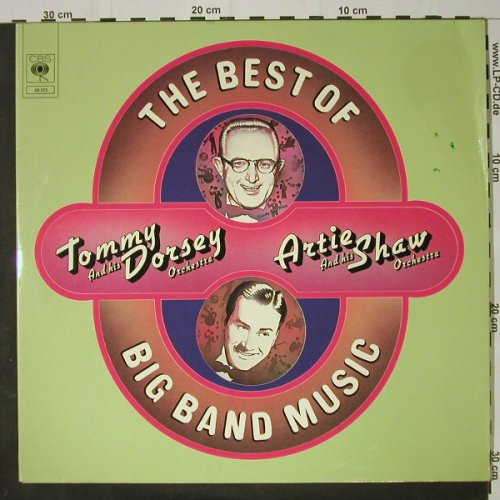 Dorsey,Tommy Orch/Artie Shaw Orch.: The Best Of Big Band Music,Foc, CBS(68 273), NL, m-/vg+, 1973 - 2LP - C8192 - 5,00 Euro