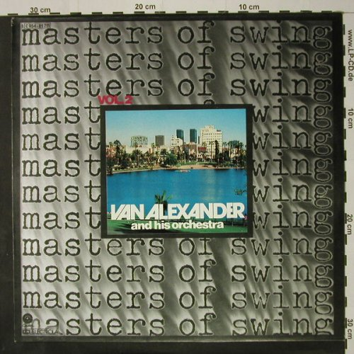 Van Alexander and his Orchestra: Masters Of Swing - Vol.2, Capitol(C 054-81 711), D,  - LP - C8528 - 6,00 Euro