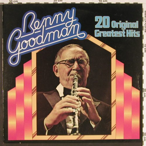 Goodman,Benny: 20 Original Greatest Hits, Historia(H 770), D,  - LP - C9487 - 5,00 Euro