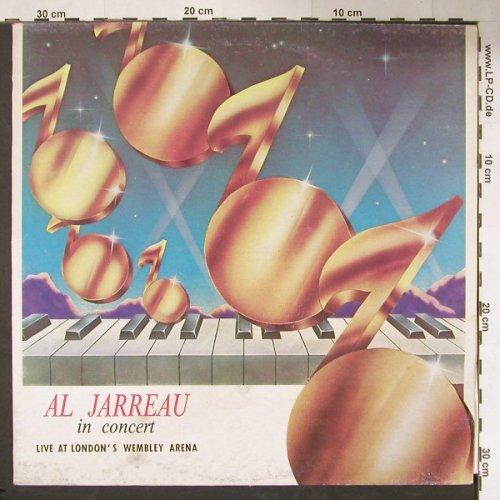 Jarreau,Al: In Concert At London Wembley, Westbound(ALJ 30986), US,  - LP - C9958 - 9,00 Euro