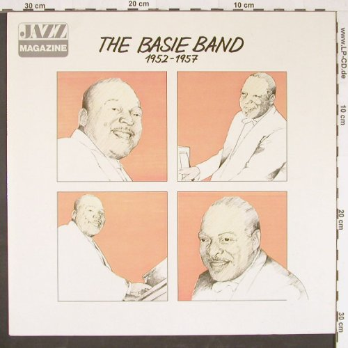 Basie Band,Count: 1952-1957,Jazz Magazine, Metron.(0040.200), D,  - LP - E1011 - 5,00 Euro