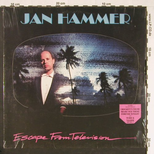Hammer,Jan: Escape From Television, FS-New, MCA(255 093-1), D, 1987 - LP - E105 - 5,00 Euro