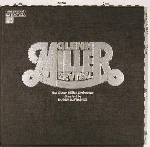 Miller,Glenn - Revival: Directed by Buddy Defranco, Box, Stateside EMI(C 148-93995...), D, 1972 - 3LP - E1096 - 10,00 Euro