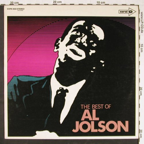 Jolson,Al: The Best Of, Coral(COPS 2022), D,  - LP - E1495 - 5,00 Euro
