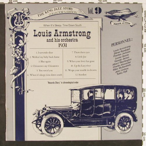Armstrong,Louis & Orch.: The King Jazz Storie Vol.9, Joker(SM 3750), D,  - LP - E1825 - 4,00 Euro