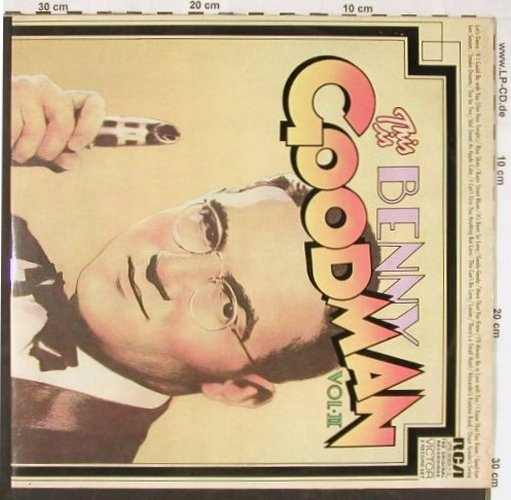 Goodman,Benny: This Is B.G., Vol.II, Foc, RCA Victor(VPS-6063), D, 1972 - 2LP - E1955 - 7,50 Euro