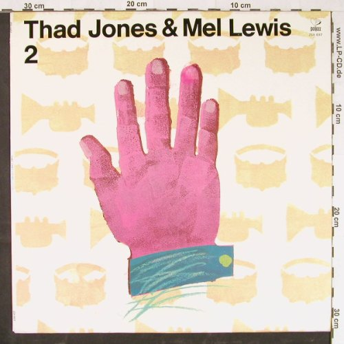 Jones,Thad & Mel Lewis: 2, Poljazz(ZSX 697), PL, 1978 - LP - E1967 - 6,00 Euro