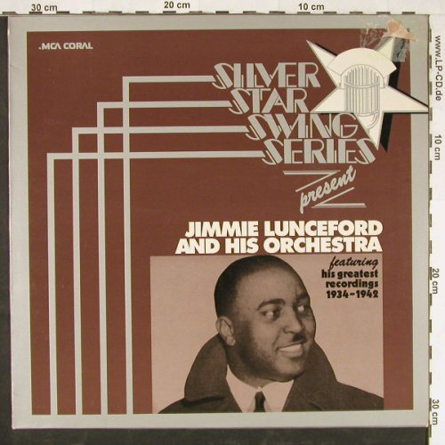Lunceford,Jimmie & his Orch.: Silver Star Swing Series, m-/vg+, MCA(6.22246 AK), D, 1975 - LP - E2076 - 4,00 Euro