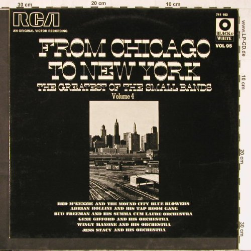 V.A.From Chicago To New York: Vol.4, 16 Tr., RCA(741 103), F,  - LP - E2162 - 5,00 Euro