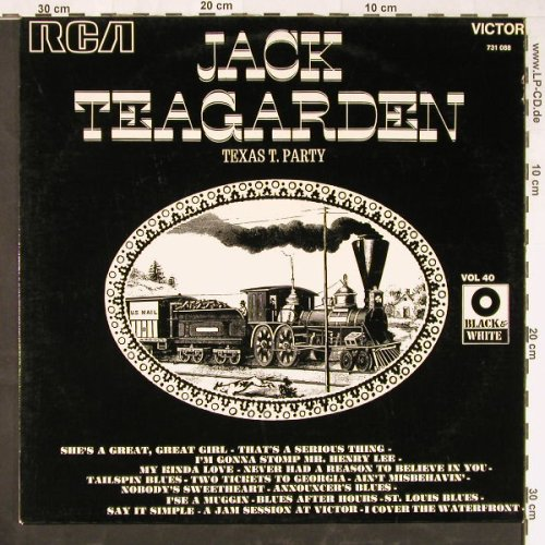 Teagarden,Jack: Texas T.Party, RCA(731 088), F,  - LP - E2169 - 5,00 Euro