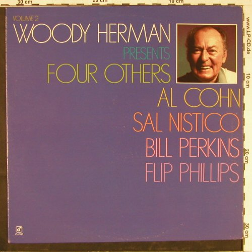Herman,Woody: Presents Four Others, Concord(CJ-180), US, 1982 - LP - E2567 - 6,00 Euro