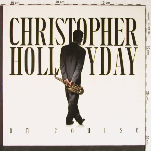 Hollyday,Christopher: On Course, Novus(PL 83087), D, 1990 - LP - E2772 - 5,00 Euro