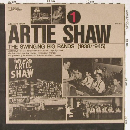 Shaw,Artie: The Swinging Big Bands Vol.1, Joker(SM 3620), I, 1974 - LP - E3594 - 4,00 Euro