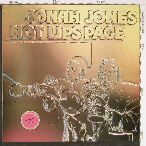 Jones,Jonah: Hot Lips Page, Ri, Commodore(XFL 16569), US, 1982 - LP - E3926 - 6,00 Euro