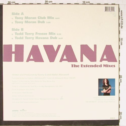 Kenny G: Havana-The Ext.Mixes*4, Arista(74321 46629 1), D, 1997 - 12inch - E3954 - 3,00 Euro
