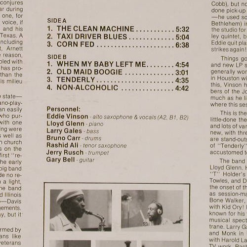 Vinson,Eddie'Cleanhead': The'Clean'Machine, FS-New, Muse Rec.(MR 5116), US, 1978 - LP - E3984 - 9,00 Euro