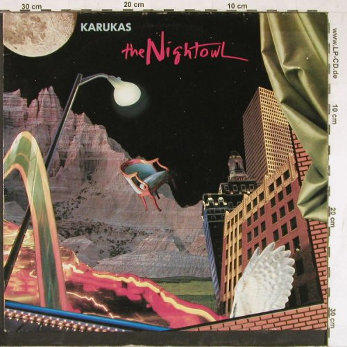 Karukas: The Nightowl, m-/vg+, Prism(OP-3101), D, 1987 - LP - E4132 - 4,00 Euro
