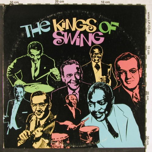 V.A.The Kings Of Swing: Gene Krupa...Les Elgard, 22 Tr., Columb.(P2S 5620), US,  - 2LP - E4234 - 7,50 Euro