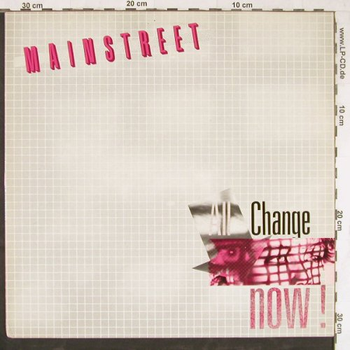 "Mainstreet: All Change Now, +7"", Disctrade(DT 271-10), CH, 1983 - LP - E4359 - 6,00 Euro"