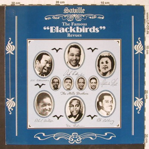 "V.A.Tha Famous""Blackbirds""Revues: Plantation...Blackbirds, Saville(SVL 195), UK, 19Tr., 1988 - LP - E5732 - 6,50 Euro"