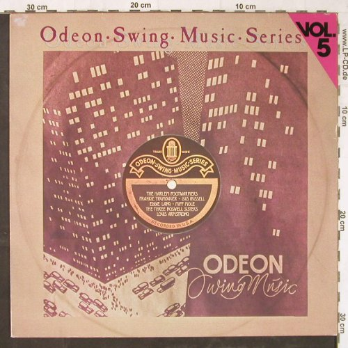 V.A.Odeon Swing Music Vol. 5: Luis Russell....Louis Armstrong, Emi Odeon(054-06 311), D,  - LP - E5733 - 5,00 Euro