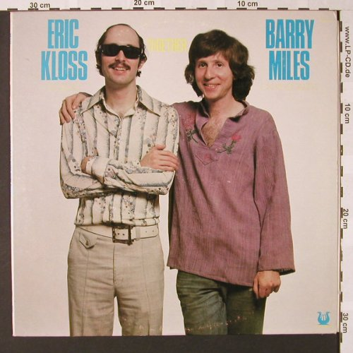 Kloss,Eric / Barry Miles: Together, Muse Rec.(MR 5112), US, 1976 - LP - E7391 - 14,00 Euro