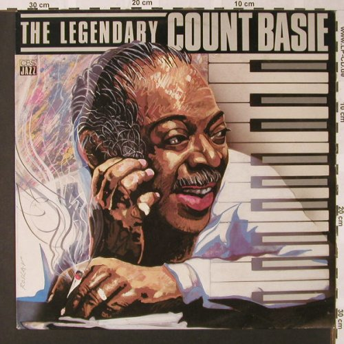 Basie,Count: The Legendary, CBS(26 033), NL, 1984 - LP - E8176 - 5,00 Euro
