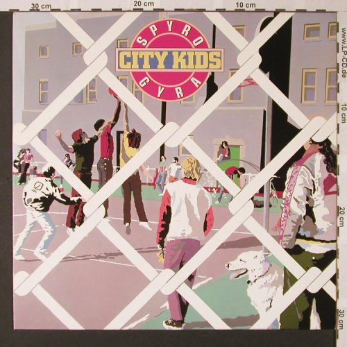 Spyro Gyra: City Kids, MCA(205 621-320), D, 1983 - LP - E8375 - 5,50 Euro